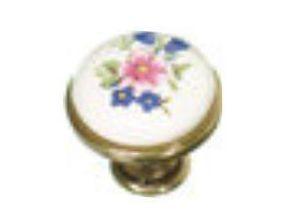knopka 29mm staromosaz/porcelán