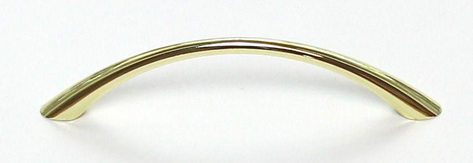 Úchyt 96mm / zlatá mosaz lesklá